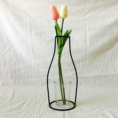 Metal Plant Stand Flower Vase Holder Flower Pot Stand Iron Vase Holder 24cm