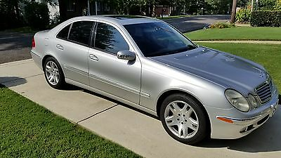 2003 Mercedes-Benz E-Class E500 2003 Mercedes-Benz E500