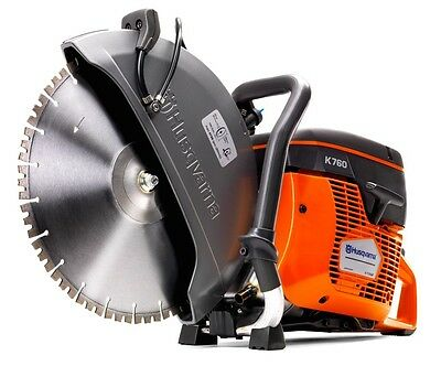 "Husqvarna K760 14"" Gas Concrete Demo Saw - NEW - Ships Today - Authorized Dealer"