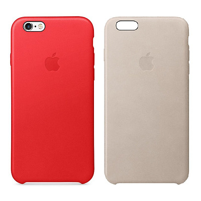 Original Apple iPhone 6 PLUS / 6s PLUS Lederhülle Hülle Schutzhülle Case