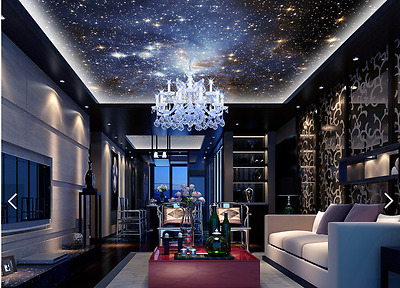 3D Magical Galaxy 73 Ceiling WallPaper Murals Wall Print Decal Deco AJ WALLPAPER