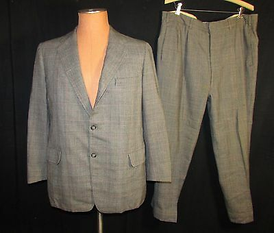 Two Piece Wool Suit, Dated 1956