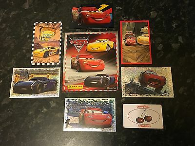 From 30p Each, Panini CARS 3 Stickers, Photo Finish, Pop-up, Choose From List