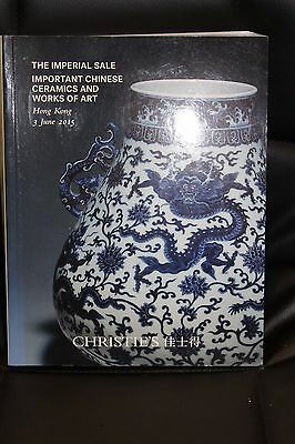1 Christie's Catalog Imperial Sale Important Chinese Ceramics and Works Art