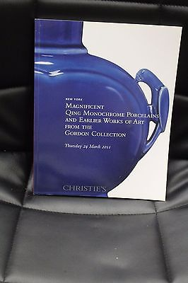 1 Christie's Catalog Qing Monochrome Porcelains and Earlier Works of Art