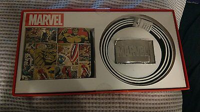 Marvel Wallet & Belt (one size)