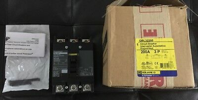 Square D QBL32200 Circuit Breaker 200 Amp 3 Pole 240v