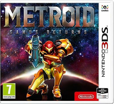 Metroid: Samus Returns (3DS) NEW & SEALED Fast Dispatch Free UK P&P