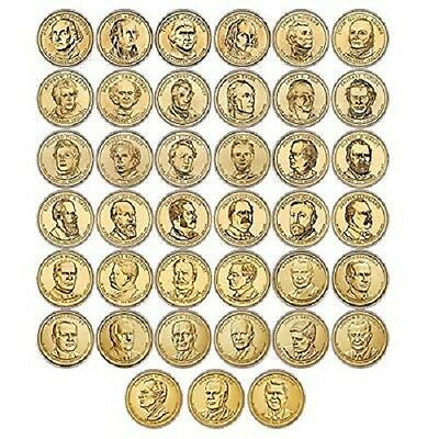 2007 to 2016 Philadelphia Presidential Dollar Set - 39 coins 10  YEARS COMPLETE