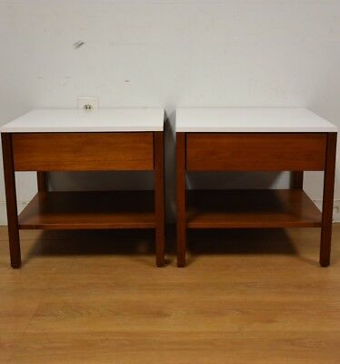 Nightstands or End Tables by Florence Knoll