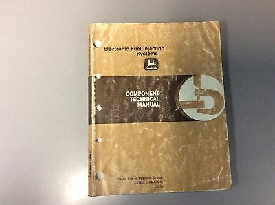 John Deere CTM68 Electronic Fuel Injection Systems Component Tech Manual