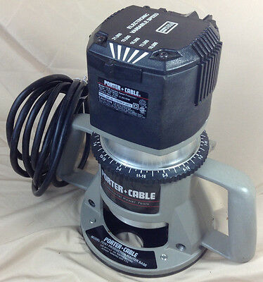 Porter Cable Electronic Variable Speed Production Router #7518