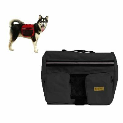 Pet Dog Bag Medium and Large Big Dogs Outdoor Backpack Saddle Bags for Hiking