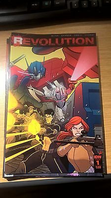 IDW Transformers Comic REVOLUTION Issue 1