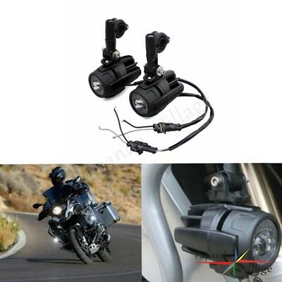 Cree LED Auxiliary Fog Light Assemblie Safety Lamp For Motocycle BMW R1200GS ADV
