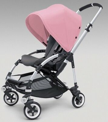 New In Box Soft Pink Sun Canopy For Bugaboo Bee Stroller