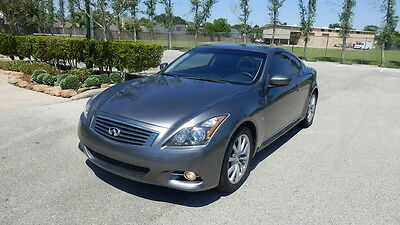 2014 Infiniti Q60  2014 Infiniti Coupe - Low Miles - JOURNEY EDITION (NO Reserve)