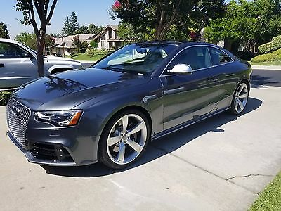 2013 Audi RS5 Standard 2013 AUDI RS5 COUPE AWD HTD LEATHER SUNROOF 20 inch wheels 20384K MI