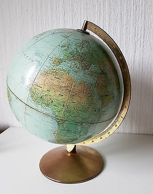 Vintage 1970'S World Globe Made In Denmark Scan Globe A/c