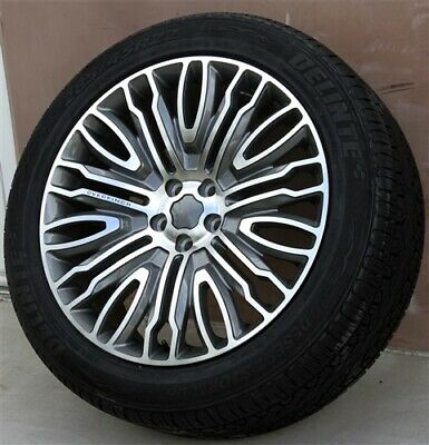 New(4) 22X10 5X120 Wheels & Tires Pkg Range Rover Sport Hse Supercharged Stormer