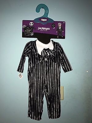 """Halloween Nightmare before Christmas """"Jack"""" Size 6-12 months NWT"""