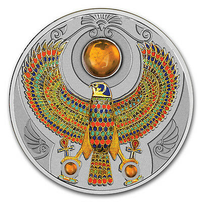 2017 Niue Silver 2 oz Falcon of Tutankhamun - SKU#118139
