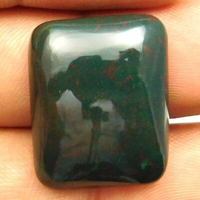 27.15 cts Natural Bloodstone Gemstone Octagon Shape Loose Cabochon For Jewelry