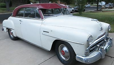 1951 Plymouth Belvedere  51 Plymouth Belvedere