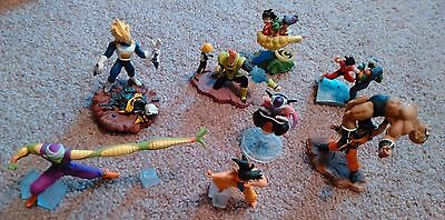 Dragon Ball Z Gashapon Figures Set of 12! Must See! Excellent Condition!