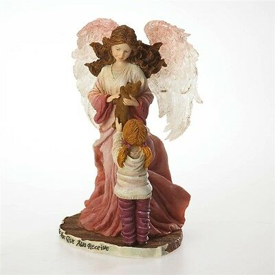 Boyd's Bear Angel Figurine-Charity...Guardian Angel of Good Deeds