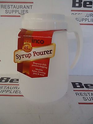 *new* Winco Psud-32 Plastic 32 Oz. Syrup Dispenser / Pourer - Free Shipping