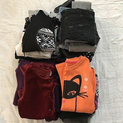 Girls Size 6 Huge Back to School Fall Winter Clothes Lot 26 Pieces