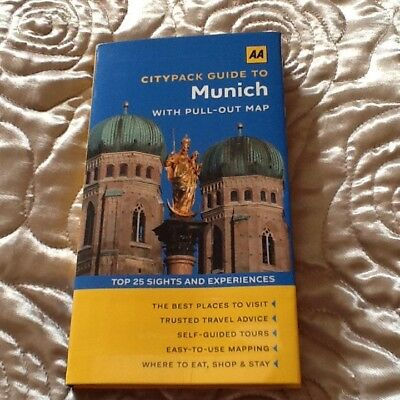 Munich (AA CityPack Guides), AA Publishing Paperback Book The Cheap Fast Free