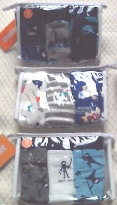 Gymboree Boys Briefs Sz 4 XS Underwear 3, 3 packs 9 Pair SUPER FROG NINJA SAFARI