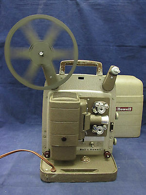 Bell & Howell Portable 8mm Movie Projector - Model 253 AX