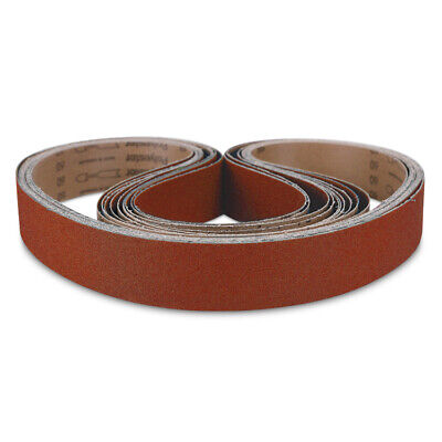 "3pcs 2 x 72 /""Metal Eater/"" Ceramic Sanding Belt 60 Grit"