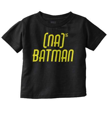 Na Na Batman Funny Theme Song Nerd DC Comic Cute Baby Toddler Infant T