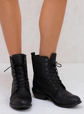 New Women's Roc Boots Black Oily Territory Boots