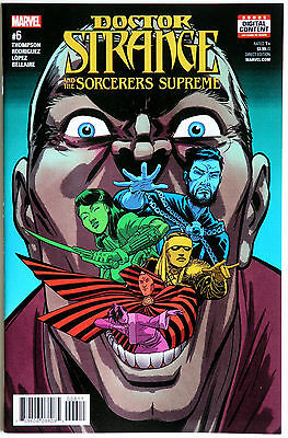 Doctor Strange and the Sorcerers Supreme #6 Marvel Comics R Thompson J Rodriguez