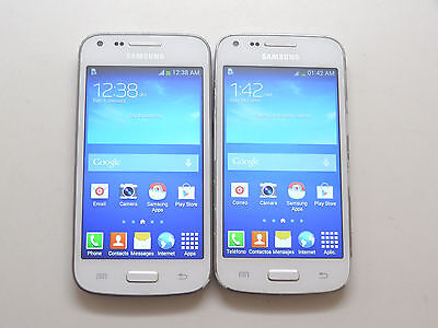 Lot of 2 Samsung Galaxy Core Plus SM-G350M Nextel Smartphones Good LCD AS-IS