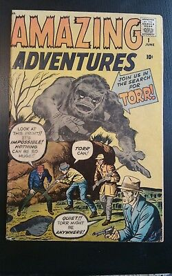 Amazing Adventures #1 (1961) Dr Droom 1st Marvel hero *NICE book