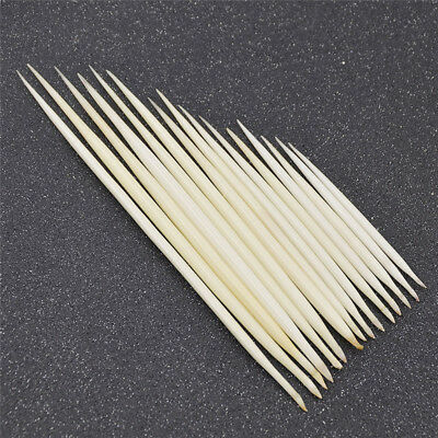 Porcupine Quills White Hair Stick DIY Hand Craft Fishing Work Supplies Pack of 5