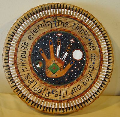 The Things We Do During Our Life by Lakota Artist Sonja Holy Eagle