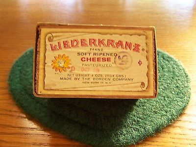 Bordens Liederkranz Cheese Box With Elsie The Cow 1950s