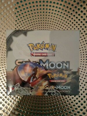 Pokemon TCG - Burning Shadows Booster Box (36 Packs) - Brand New and Sealed