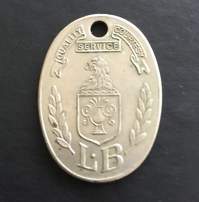 Charge Coin ID Tag Lit Brothers Philadelphia Pennsylvania PA Token Credit