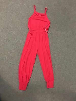 Girls Red Playsuit Size 9