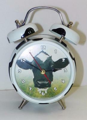 WACKY WAKERS - COW ALARM CLOCK - Moo Sound - BATTERY OPERATED = 3 ~ AAA's
