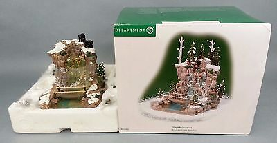 Department 56 Mountain Creek Waterfall Village 53003 Christmas