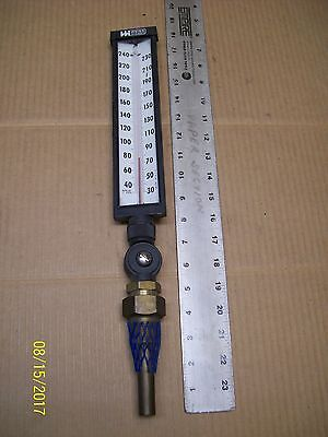 Weiss Industrial Thermometer Temperature Gauge Gage 30-240F